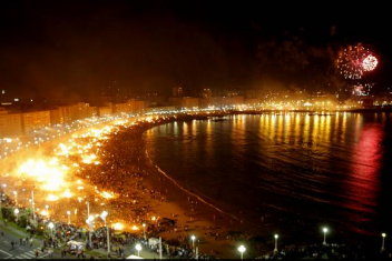 La noche de Sant Joan hace arder Palma